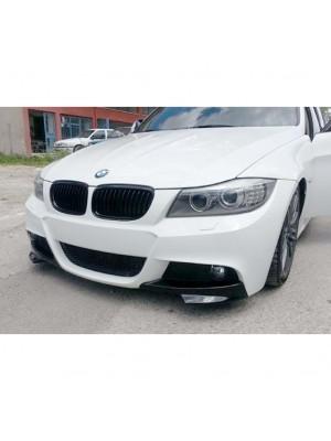 Лип спойлер - сплитери (добавка) за предна М броня (BMW F30)
